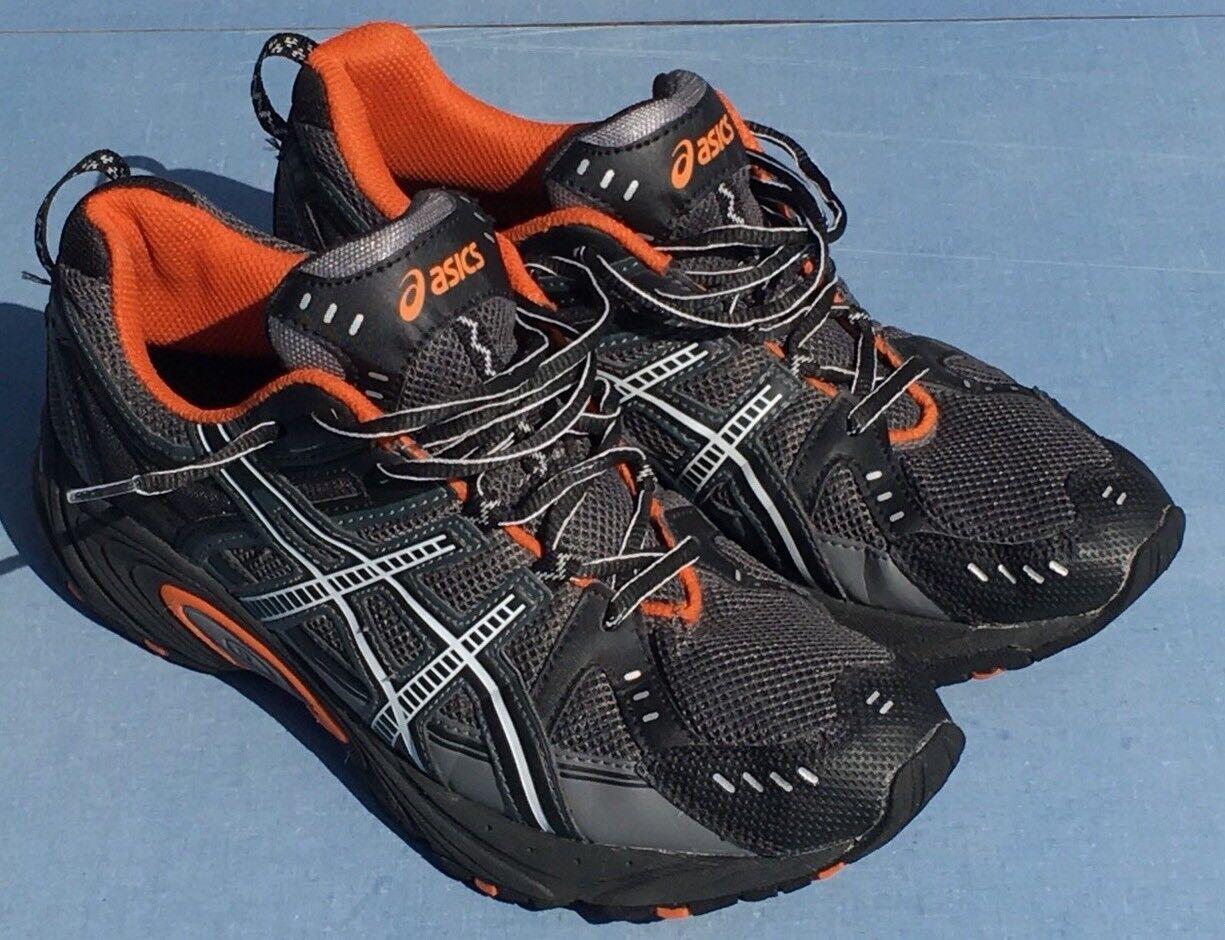 best sneakers f76e8 1a516 Mens Asics Shoes 9.5 US US US - 43.5 EURO A640813 CS Charcoal Gray Black  T233N