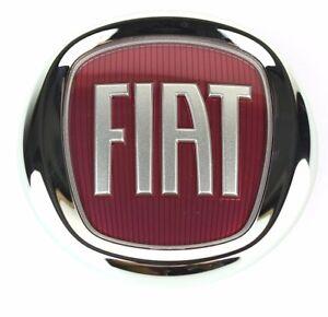 Fiat Front 500 Pare-chocs Avant Badge/emblème 51932710 Neuf 100% Authentique Fiat-afficher Le Titre D'origine 100% D'Origine