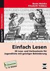 Einfach Lesen von Beate Mainka und Elisabeth Trebbau (2013, Geheftet)
