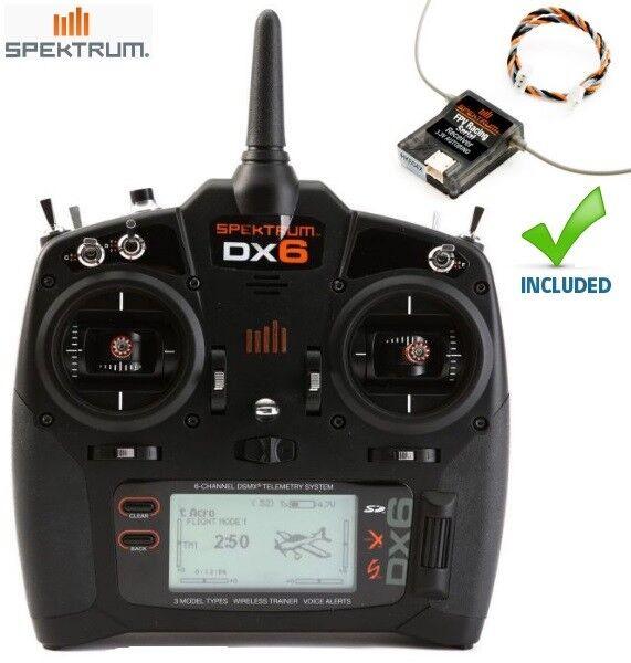 nuovo Spektrum DX6 6-Channel DSMX®  Transmitter System Mode 2  acquista online oggi