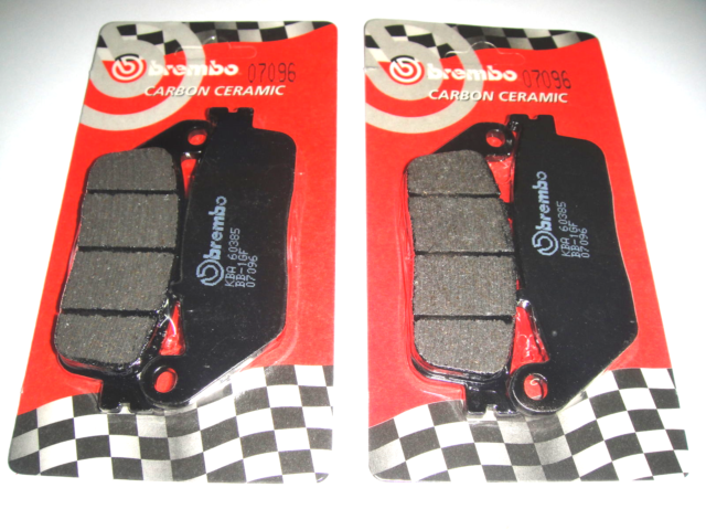 4 Front Brake Pads Brembo Carbon Ceramic 07096 Kymco Xciting R 300 2010