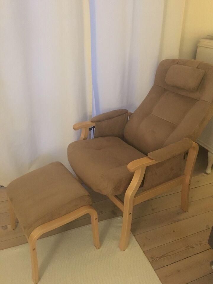 Lænestol, stof, Sorø Hvilestol fra – dba.dk – Køb og Salg af
