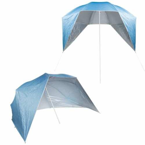 HI Sonnenschirm UV50 Sonnenschutz Strandmuschel Strandschirm Strand Schirm
