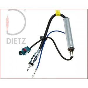 Dietz-8553-Alimentacion-fanstasma-fakra-gt-150-Ohm-para-VW-AUDI-Skoda-SEAT