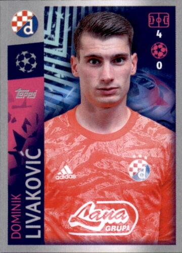 Champions League 19 20 2019 2020 Sticker 547 Dominik Livakovic GNK Dinamo Zagreb