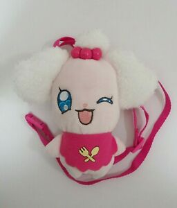 KiraKira-Pretty-Cure-A-La-Mode-Precure-Pekorin-Bandai-Sling-Bag-Zipper-6-034-Plush