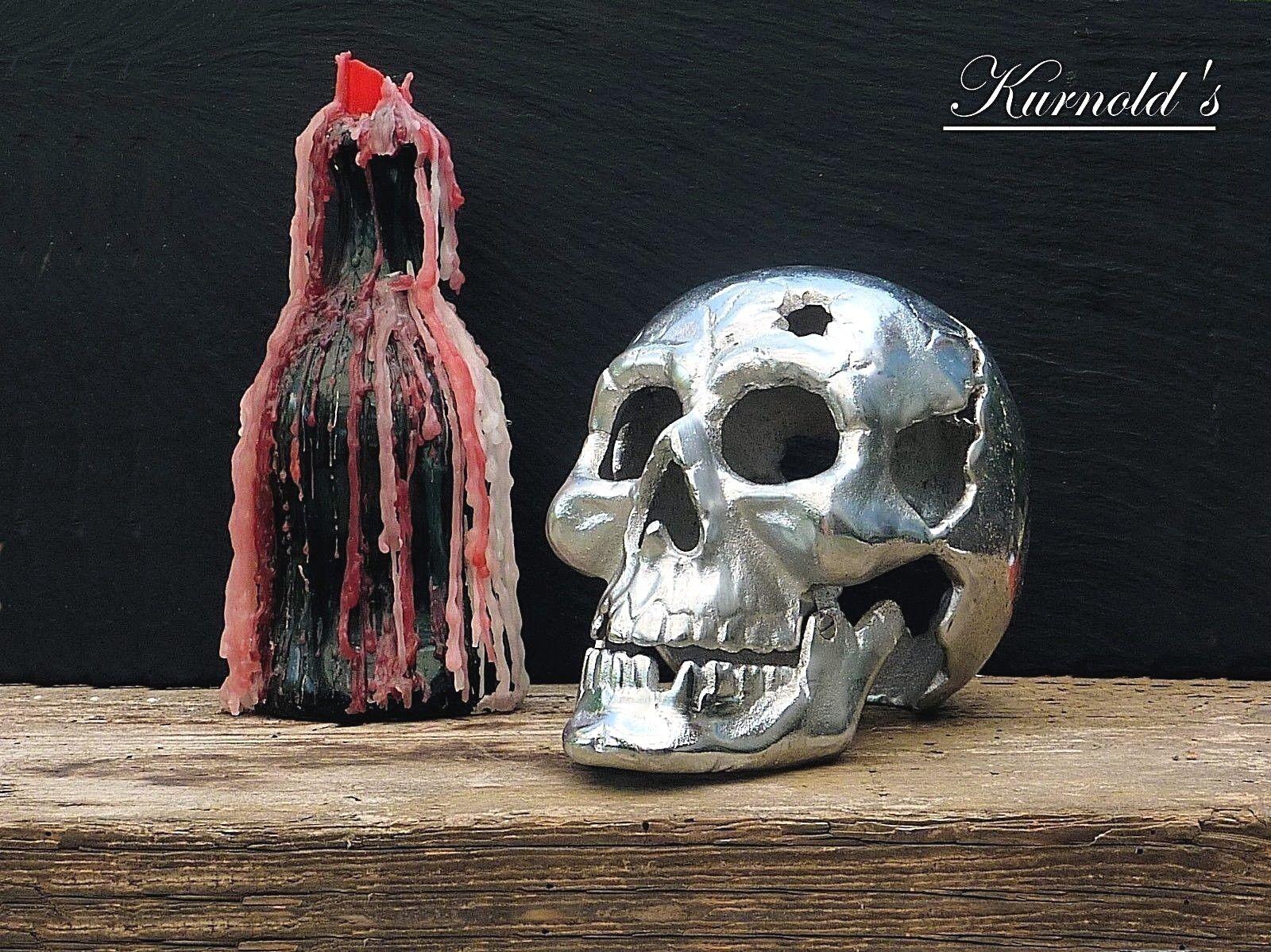 1 squelette crane tête de mort mort Pirate Halloween Event DECO fer kurnolds 0298