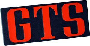 Auto-Relief-Schild-GTS-Emblem-12-cm-in-ROT-HR-Art-144163-selbstklebend