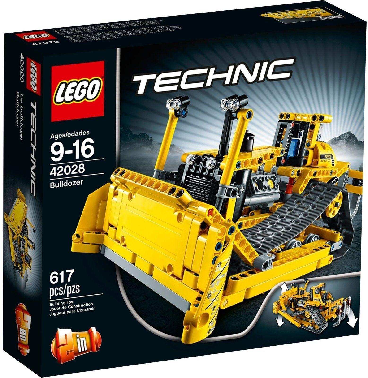 LEGO 42028 Bulldozer Nuovo di Zecca LEGO Technic 42028