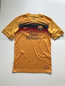 5e729e4af FC Barcelona Nike player issue 2013 14 pre match training shirt