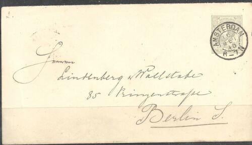 NETHERLANDS 18741895 Four 19th century entires all 23359