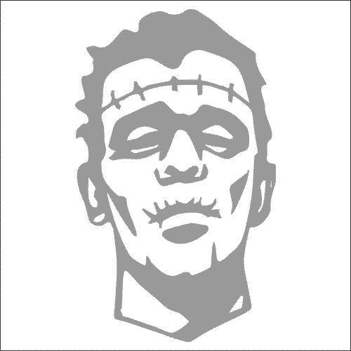 Frankenstein Vinyl Decal TWO Pack Sticker 2