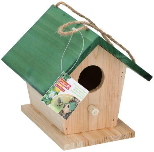 2-er SET Nistkasten Holz Vogelhaus Vogelhäuschen Nisthaus Vogelnest Nisthöhle