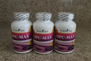 Image Is Loading HealthyMate Isotonic OPC 3 Bottles 150 Serving 8