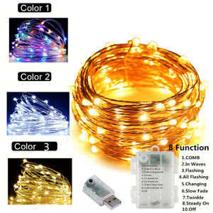 10m-33ft-USB-Battery-LED-String-Fairy-Lights-Xmas-Party-Table-Decoration-Lamp