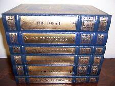 Easton Press SACRED WRITINGS OF WORLD'S GREAT RELIGIONS 6 vols Torah Gospels