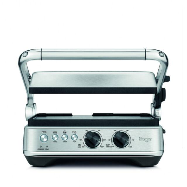 SAGE SGR700BSS4EEU1 the BBQ, Kontaktgrill, 1800 Watt