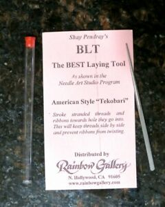 Rainbow-Gallery-Shay-Pendray-039-s-Best-Laying-Tool-BLT-Needlepoint-Cross-stitch