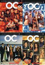 The O.C. OC la Serie Completa Cofanetti Singoli Stagioni 1,2,3, e 4 (25 DVD)