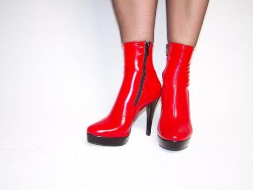 Lack Stiefel  Lack rot schwarz 36-47 *CZE816,CZA903 Bolingier Poland