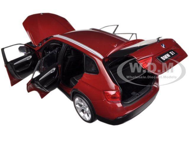 BMW X1 xDRIVE 28i E84 VERMILLION rosso 1/18 1/18 1/18 DIECAST MODEL