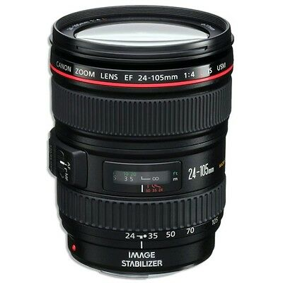 Canon EF 24-105 f/4L IS USM AF Lens for EOS 1D, 5D III, 6D, 7D 70D.. NEW *IN UK*