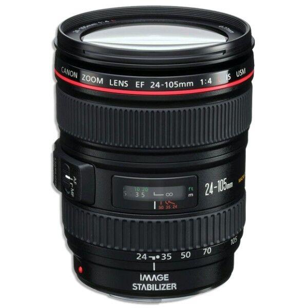 Canon EF 24-105 f/4L IS USM AF Lens for EOS 1D, 5D III, 6D, 7D 70D.. NEW *IN UK*