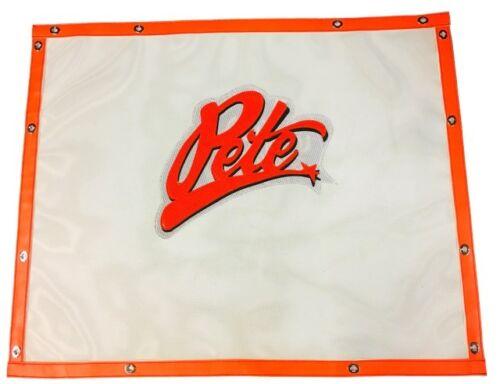 *REFLECTIVE* Pete 357//375//377//378//379 regular hood Premium Bug Screen BS-1988