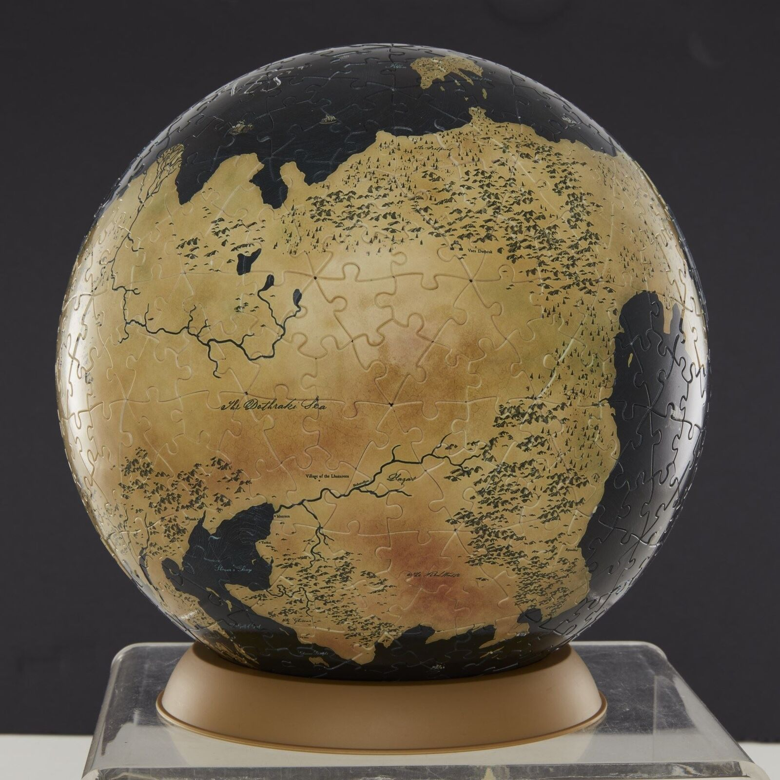 Official Games of Thrones 3D Puzzle Globe 540 9 Inch or 240 6 Inch