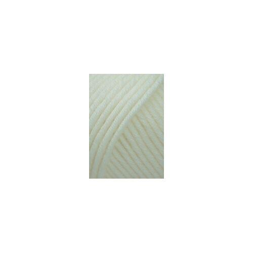 - 100 g // ca MERINO 50 von LANG YARNS 0094 OFFWHITE 90 m Wolle