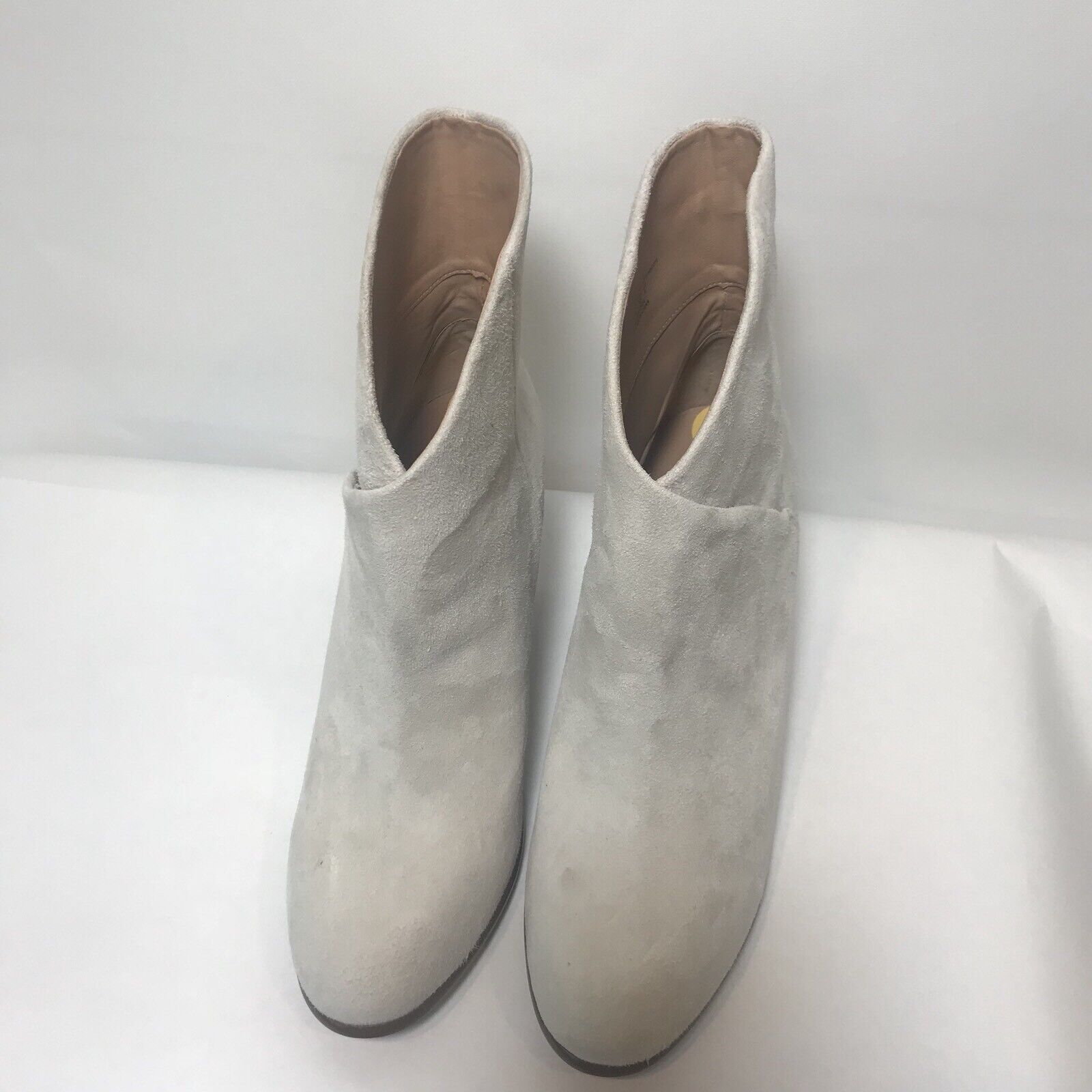 JOE'S Womens Size 11 Tisha Booties Cream Ivory Suede Credver Ankle Boots