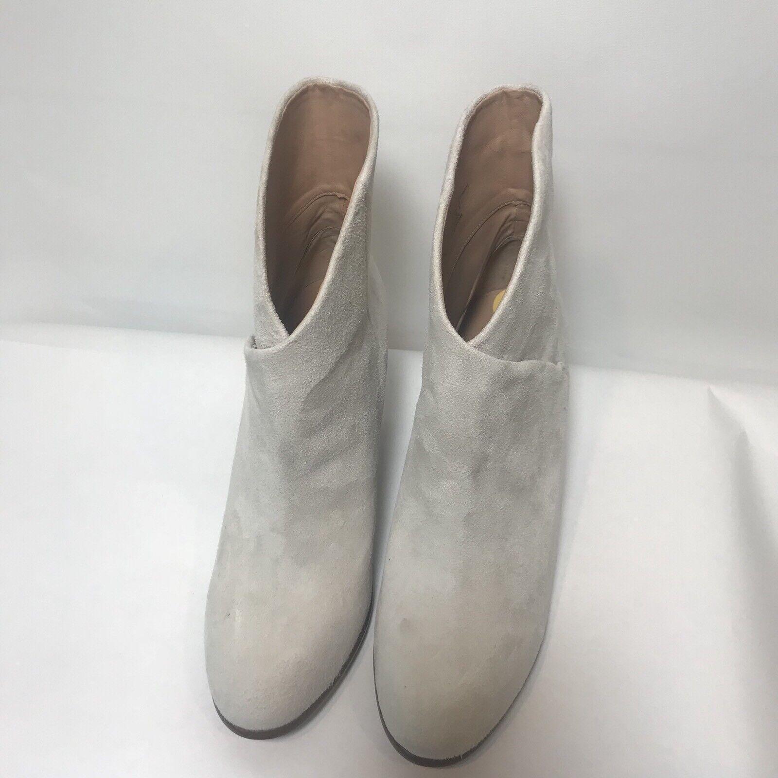 Joe's Para Mujer Mujer Mujer Talla 11 Tisha Botines botas al tobillo de cruce de gamuza Marfil Crema  moda
