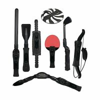 Cta Digital Wii Sports Resort 8-in-1 Sports Pack (black) Free Shipping