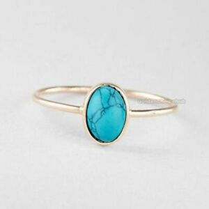Turquoise-Ring-925-Sterling-Silver-Band-Ring-Jewelry-Handmade-All-Size-Ring-x-01