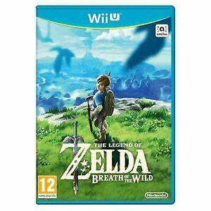 Legend-of-Zelda-Atem-des-wilden-Nintendo-Wii-U-sehr-guter-Zustand-Schneller-Versand