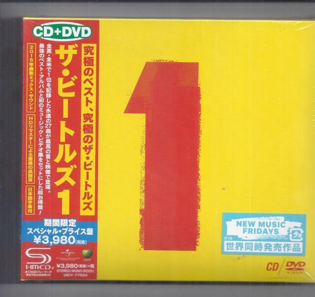 The BEATLES  1 / Universal JAPAN SHM CD + DVD /2 disc digipak set UICY-77524 NEW