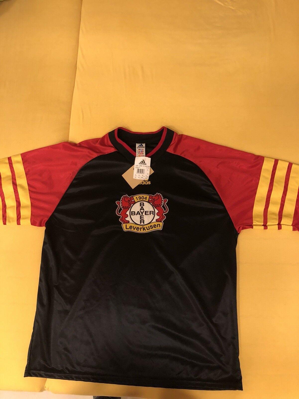 Trikot Bayer 04 Leverkusen Trainigsshirt XL Neu 1996 Rar Selten