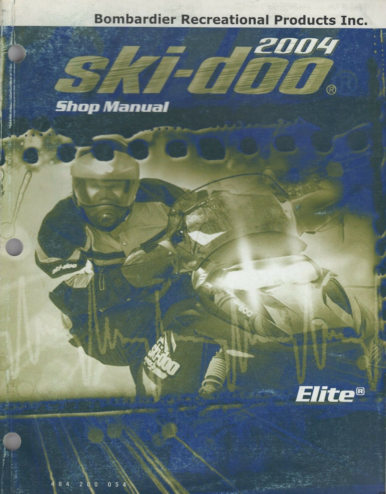 2004 SKI-DOO SNOWMOBILE ELITE SHOP MANUAL  484 200 054 (629)