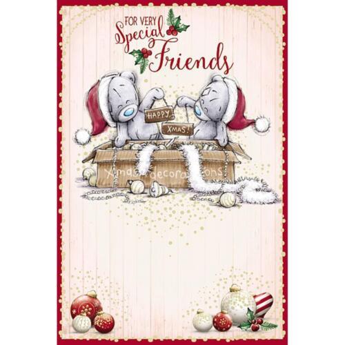Me To You Ours ami Cartes de Noël 2018