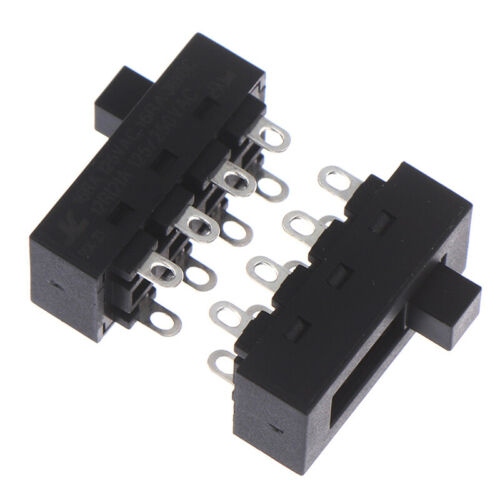 Details about  /2pcs 12A 250V 3 Position 8 Pin Toggle Slide Switch LQ-103H Hair Dryer W4