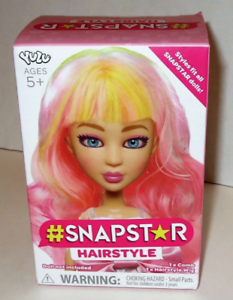 YULU #SNAPSTAR HAIRSTYLE Pastel Wig Fit Spinmaster Liv Dolls New In Box