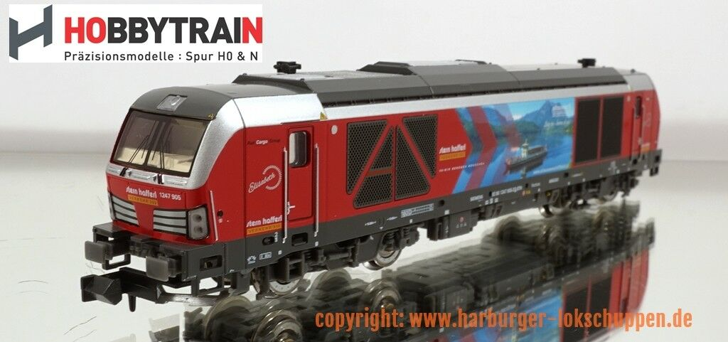 N - Hobbytrain H3101S Diesellok BR 247 905 Vectron Stern Hafferl Digital & Sound