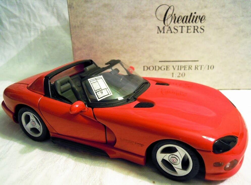 REVELL 08868  Dodge Viper rt-10, métal modèle en 1 20, très rare, NOUVEAU & NEUF dans sa boîte