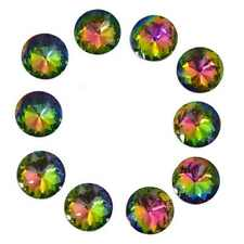 Door Knobs 10x Colorful Crystal Glass Drawer Pulls Handle 30mm Wardrobe Cupboard