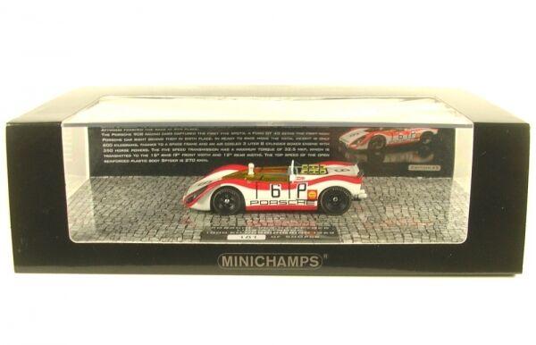Porsche 908 02 Spyder no. 6 1000 KM Nürnburgring 1969 ( Lins - Attwood)