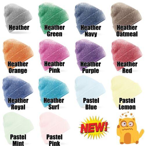 Personalizzati Beanie adulto POLSINO nebulose Knit Sci Cappello con nome slogan personalizzata