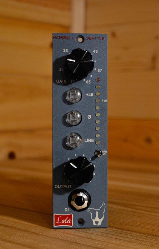 Hairball Audio Lola 500 Series Mic Preamp Module
