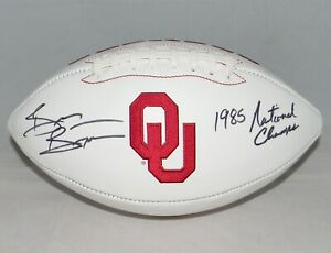 BRIAN-BOSWORTH-AUTOGRAPHED-SIGNED-OKLAHOMA-SOONERS-FOOTBALL-JSA-W-1985-CHAMPS