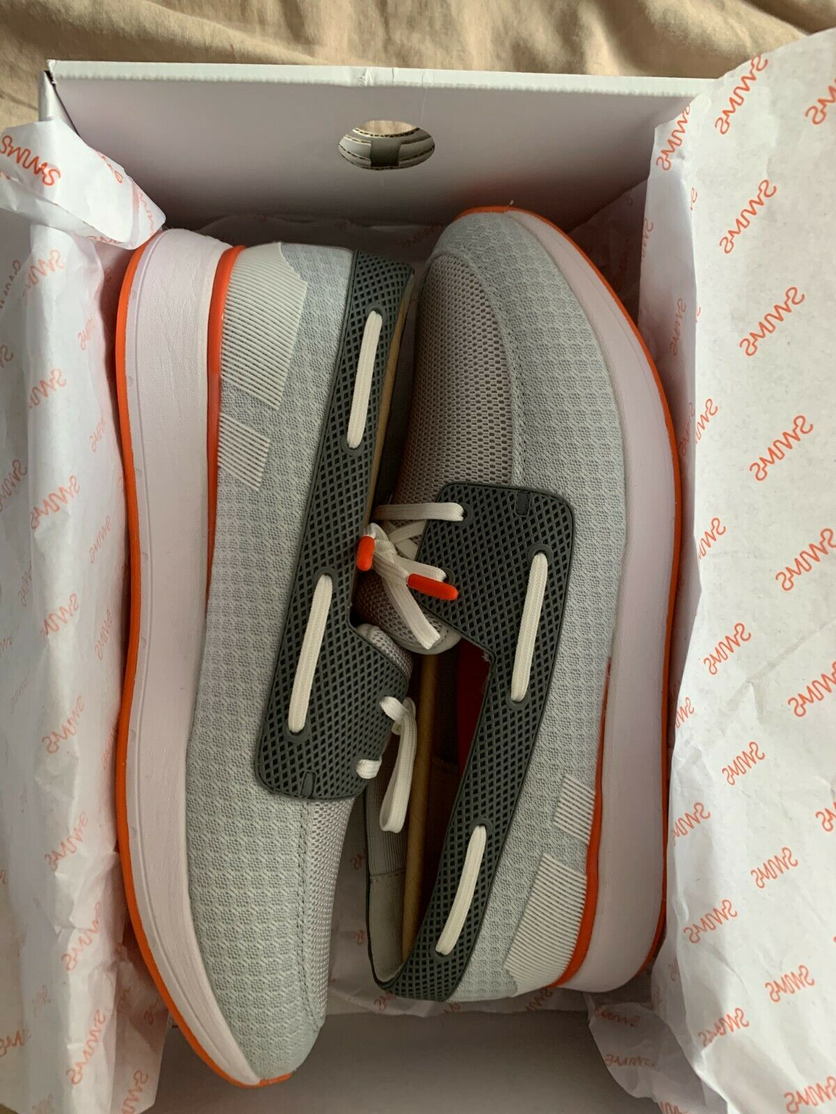 Swims BRAND NEW IN BOX breeze wave boat loafers size 6 (US 7, EU 40) beach shoes