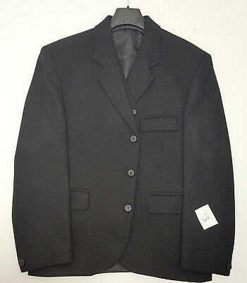 38R  Ex Hire Scottish Made Black Day Kilt Jacket /& Vest Priced to Clear
